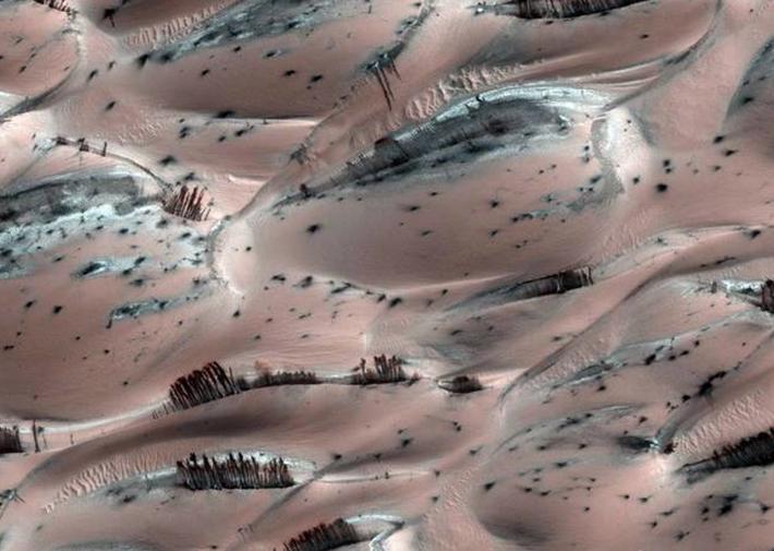 Минеральное месторождение на Марсе