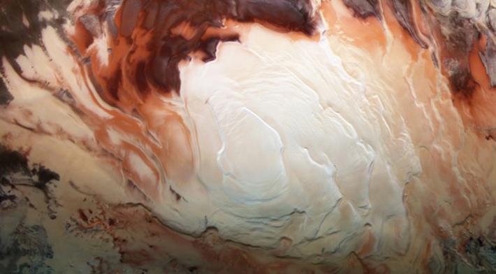 Южный Полюс Марса