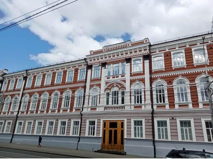 Город Саратов, осень 2021 года